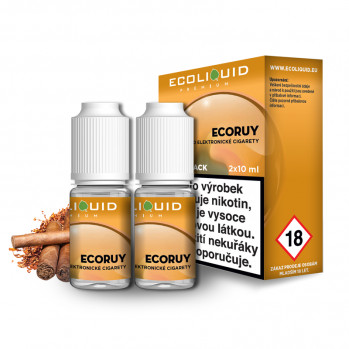 E-liquid Ecoliquid Double Pack 2x10ml / 18mg: ECORUY