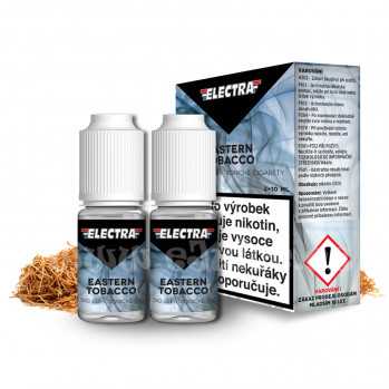 E-liquid Electra 2x10ml / 18mg: Eastern Tobacco