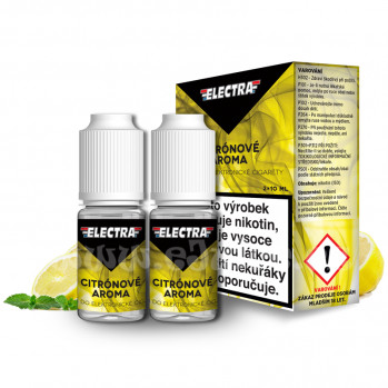 E-liquid Electra 2x10ml / 3mg: Citron