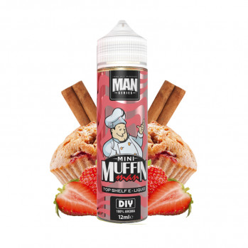 Příchuť Man Series: Mini Muffin Man (Jahodový muffin) 12ml