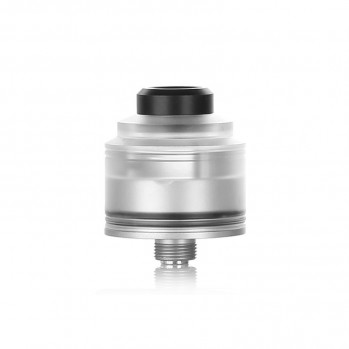 RDA atomizér GAS MODS Nixon S (Silver Base / Clear)