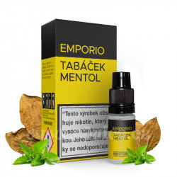 E-liquid Emporio 10ml / 12mg: Tabáček Mentol