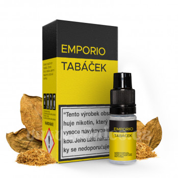 E-liquid Emporio 10ml / 18mg: Tabáček