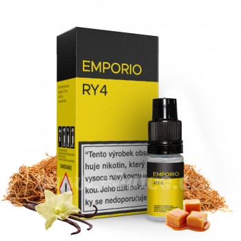 E-liquid Emporio 10ml / 6mg: RY4