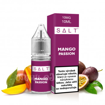 E-liquid Juice Sauz SALT 10ml / 10mg: Mango Passion (Marakuja a mango)