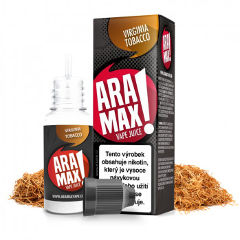 E-liquid Aramax 10ml / 6mg: Virginia Tobacco (Virginský tabák)
