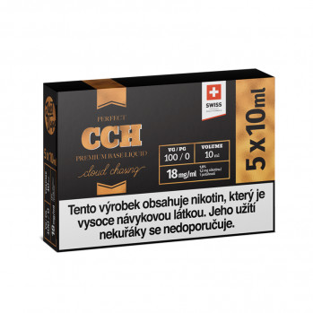 Booster báze JustVape CCH (100VG) 5x10ml / 18mg